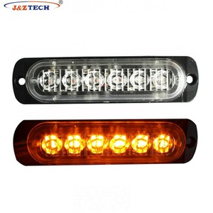 1.5 w 6 Tarabulus LED bombillas coche LED ADVERTENCIA luz estroboscópica Faro