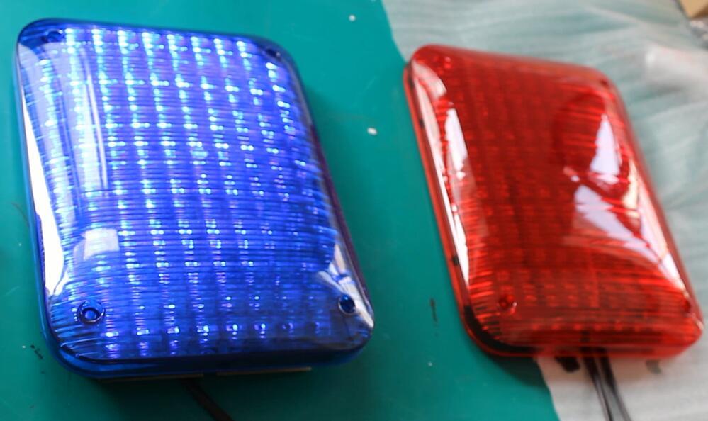 EMS perimetral de montaje en superficie peluca luz led